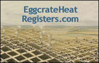 eggcrate heat registers
